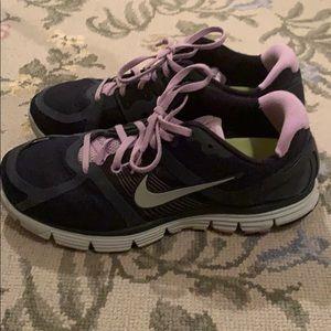 Navy Nike sneakers